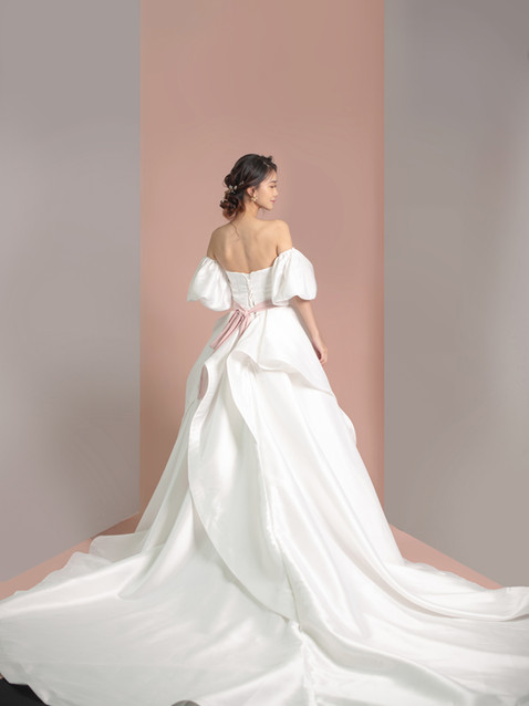 S Phoebe Satin Bridal Gown