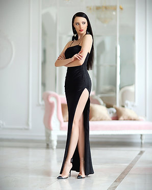 JA Raegan Black Gown