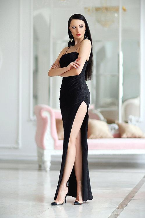 JA Raegan Black Gown