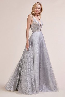 AL Crystal Cage Gown