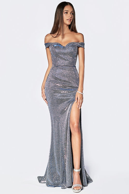 CD Silver Royal Gown