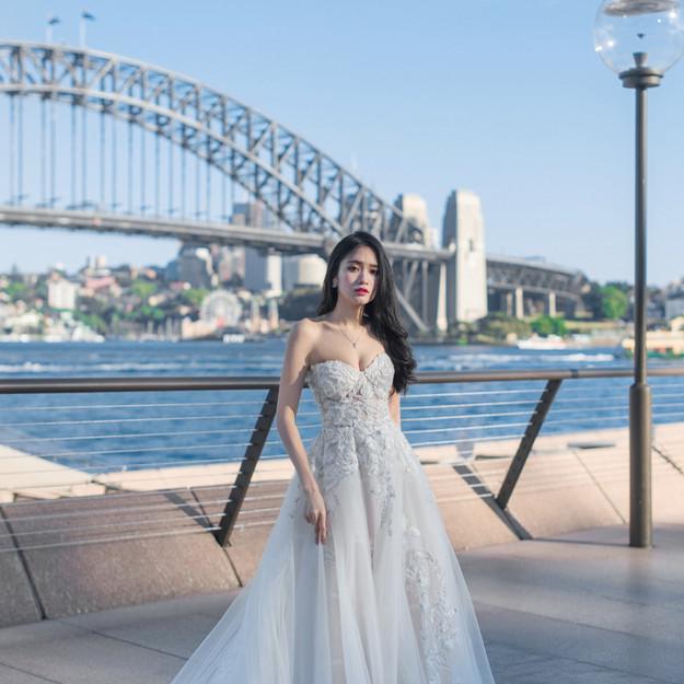 Olwen Sweetheart Gown