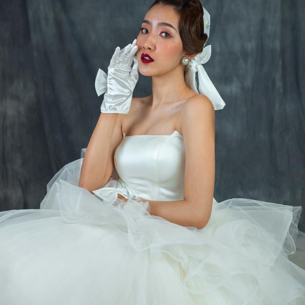Abigail Ruffle Gown