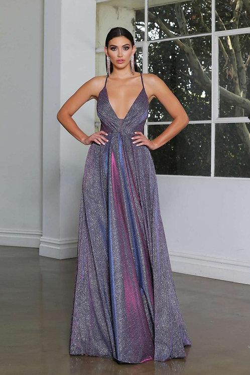 JA Stardust Gown Purple