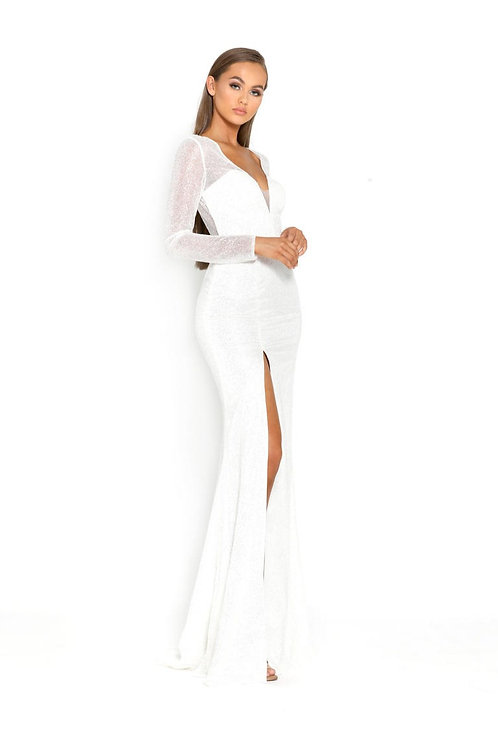 PS Diamond Dust Long Sleeves Gown