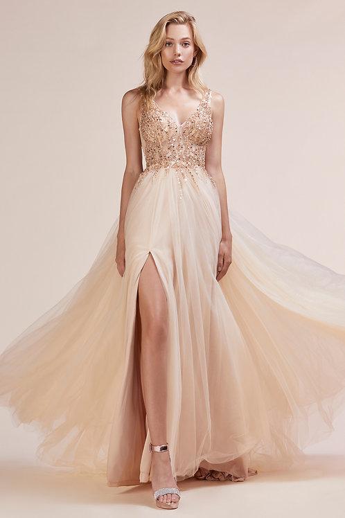 AL Bella Gown Gold