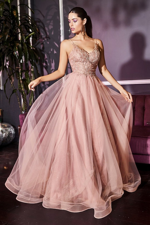 CD Scarlett Blush Gown