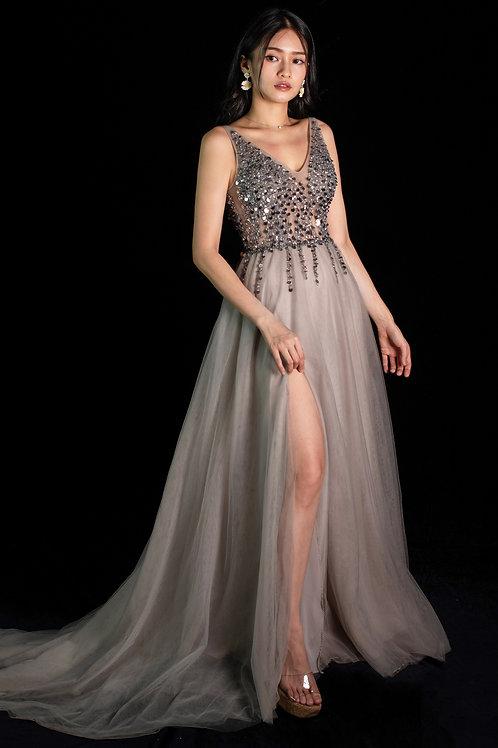 Grey Bella Gown