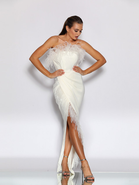 JA Furry Sweetheart Gown.
