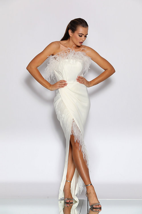 JA Furry Sweetheart Gown