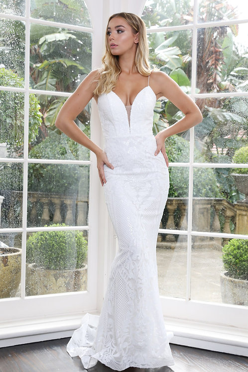H Kyla Ivory Gown