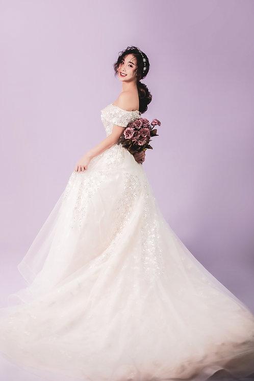 S Bonnie OS Bridal Gown