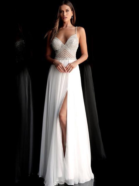 J Eira White Gown.