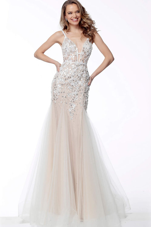 J Daisy Tulle Gown