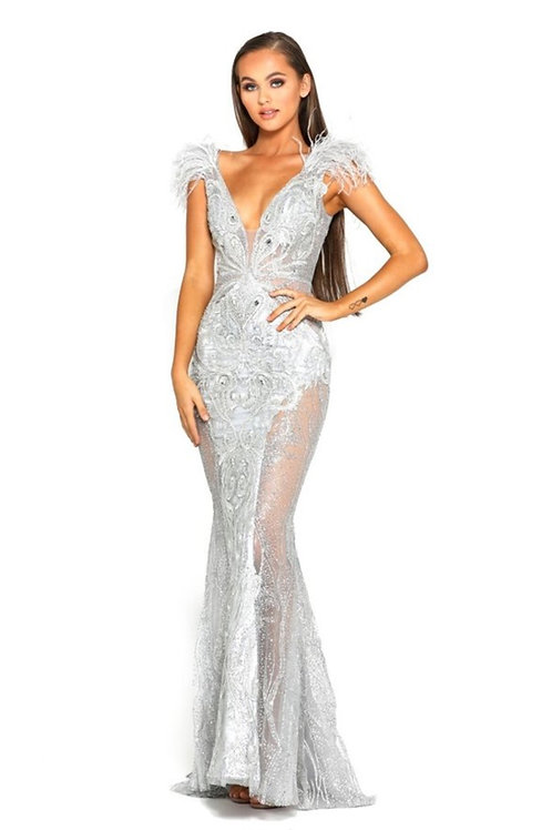 PS Fufu Silver Gown