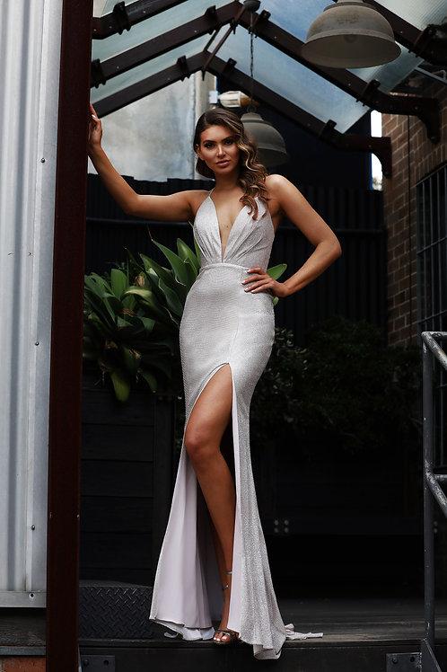 JA Stardust Musk Mermaid Gown