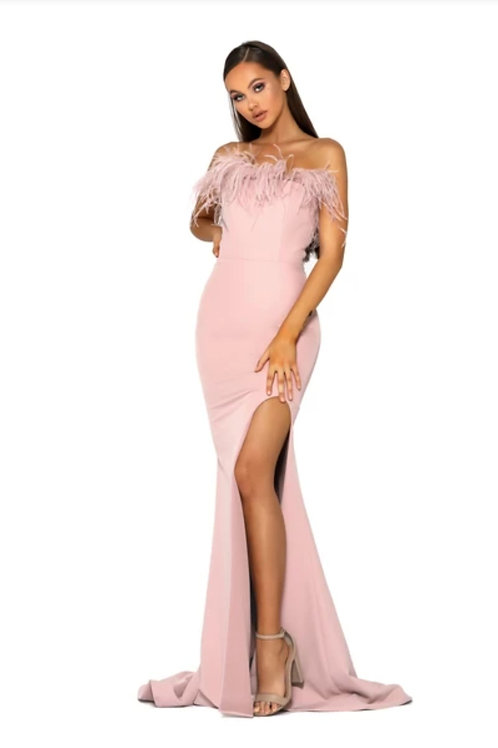 PS Furry Blush  Gown