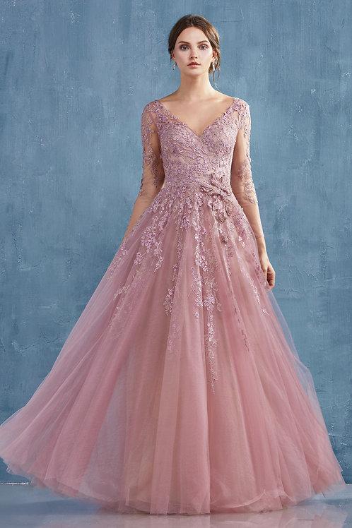 AL Zoe Long Sleeve Gown
