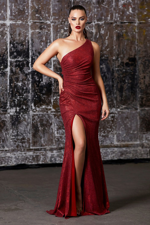 CD Nora Metallic Red Gown