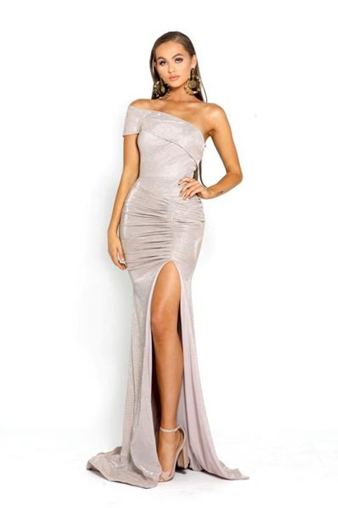 PS Stardust One Shoulder Gown