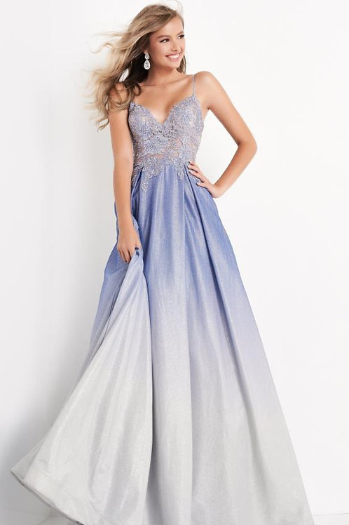 J Periwinkle Ombre Gown