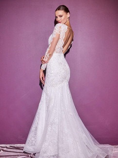 CD Cassia Long Sleeves Gown