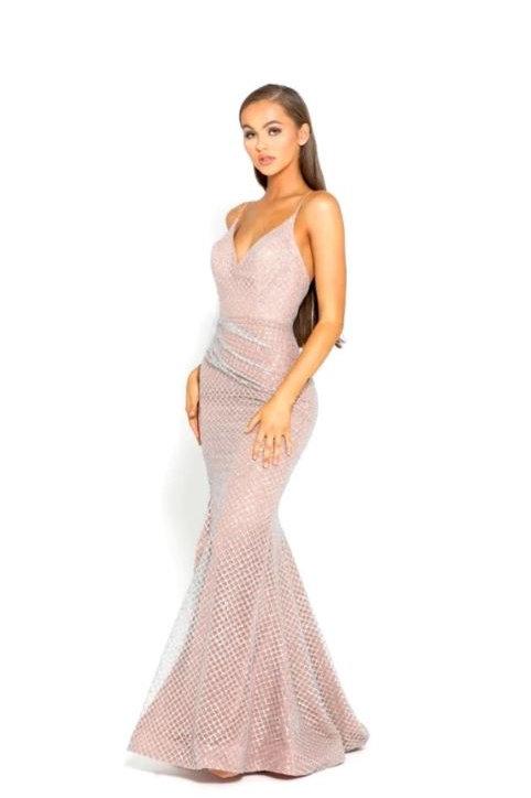 PS Rosabel Rose Gold Gown