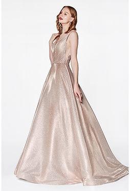 CD Soft Gold Ball Gown