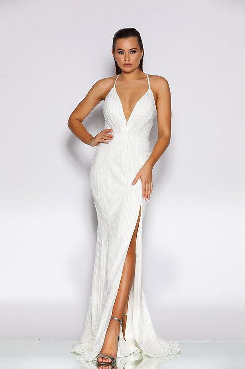 JA Nyx Monique Ivory Gown