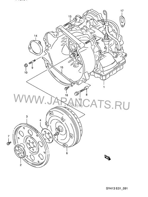 АКПП для Suzuki Boleno Esteam SY413 3 ступени