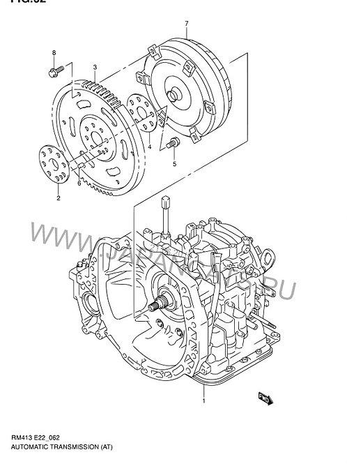 АКПП для Suzuki Ignis u440