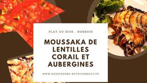 Recette idéale pour un soir: la moussaka!