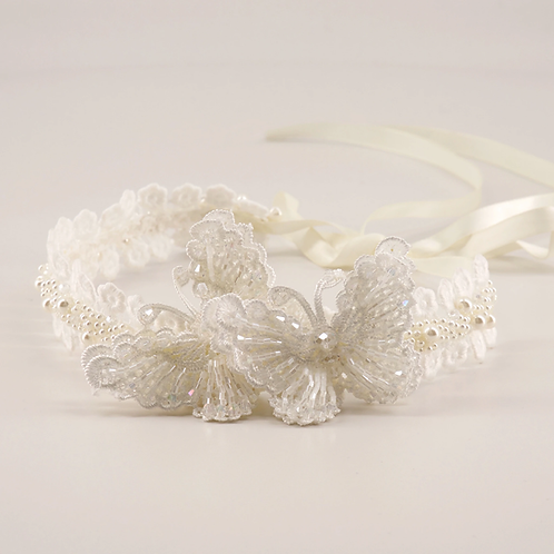 The Amabil Butterfly Designer Hair Garland - Sienna Likes to Party
