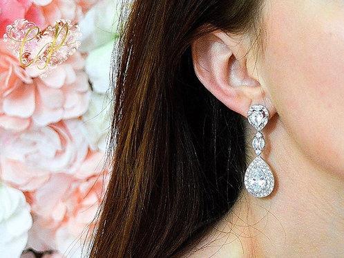 Eternity Bridal Earrings
