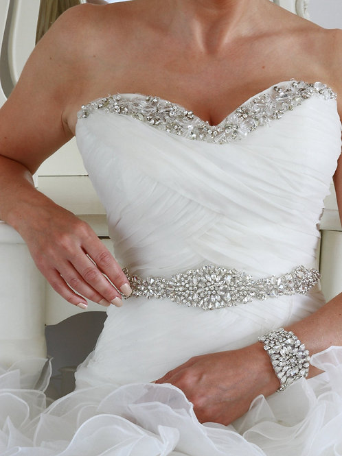 Mia Bridal Belt/Sash
