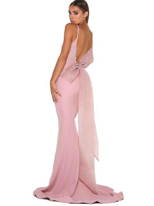 Bridesmaid Dress - BM500, Blush/dusk pink