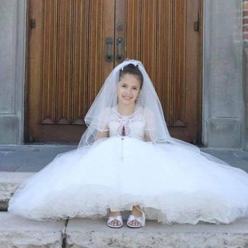 Juliette Ivory Communion Dress