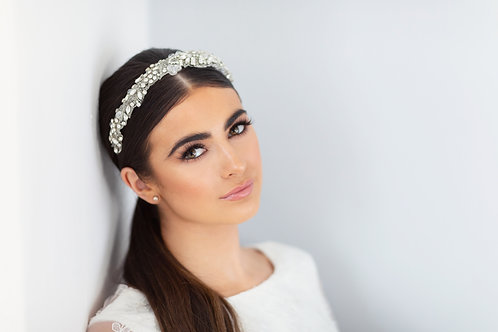 Cassie Bridal Side Hairband