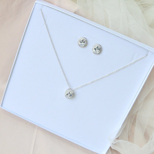 Aria Necklace Earrings Set