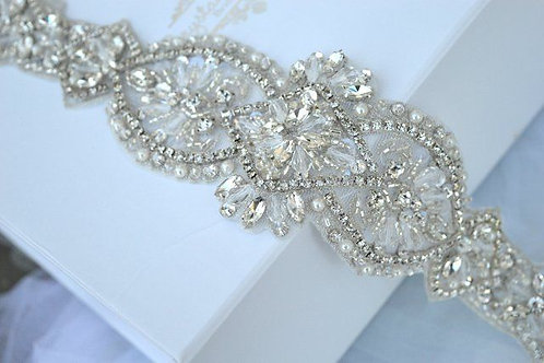 Paloma Bridal Belt/Sash