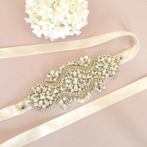 Milan Bridal Sash