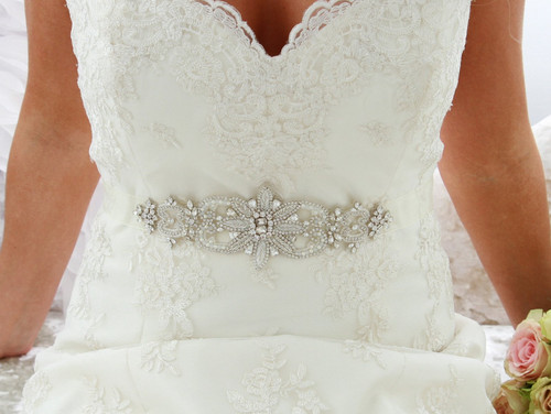 Bridal Belts Scotland Crystal Pearl Bridal