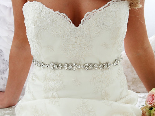 Spanish Twine Bridal Sash