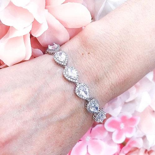 Eternity Glamour Bridal Bracelet