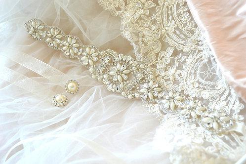 Serena Bridal Belt/Sash