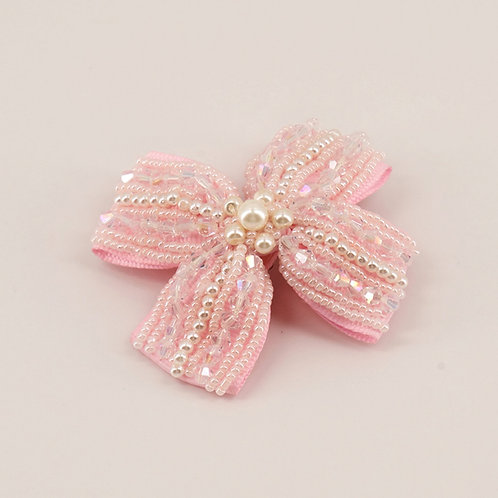 The Nought's & Crosses Pearl Hair Clip - Sienna Likes to Party