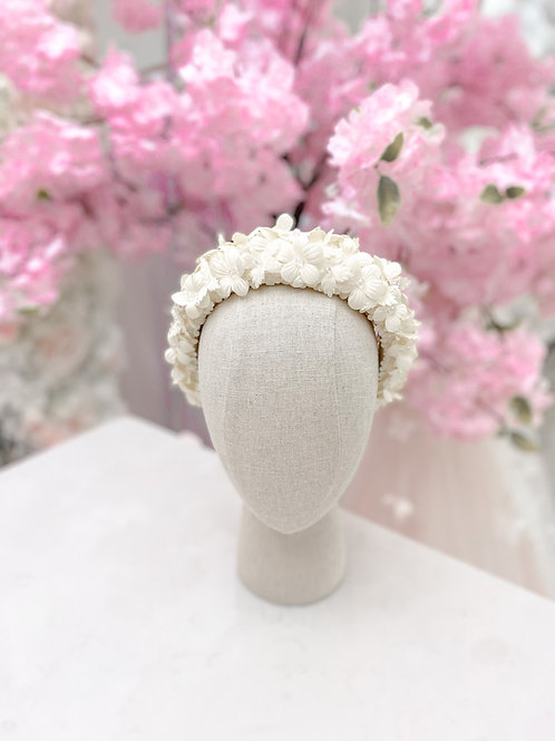 The Designer Trinity Flower Headband - Sienna Likes to Pa