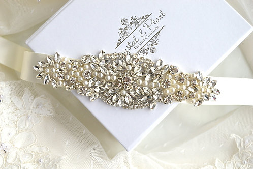 Miami Bridal Sash