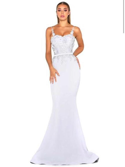 Bridesmaid Dress Behatti - Ice blue