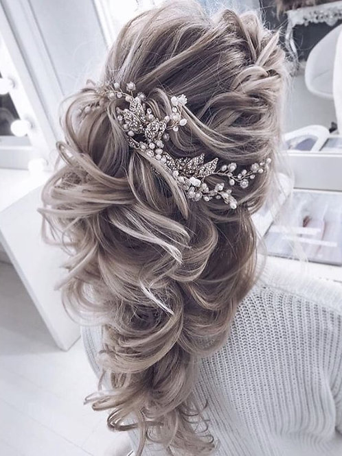 Elsa Silver Hair Slide